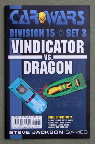 Image for Car Wars Division 15 Set 3: Vindicator vs. Dragon
