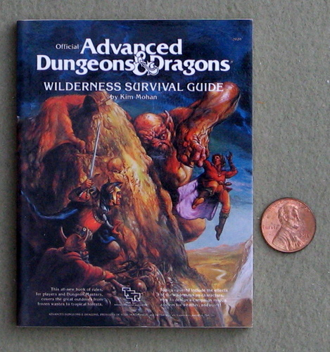 Image for Wilderness Survival Guide (Miniature AD&D Collector's Edition)