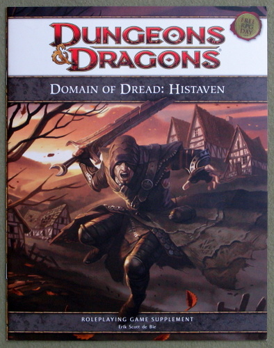 Image for Domain of Dread: Histaven (Dungeons & Dragons Roleplaying Game Supplement: Free RPG Day 2011)
