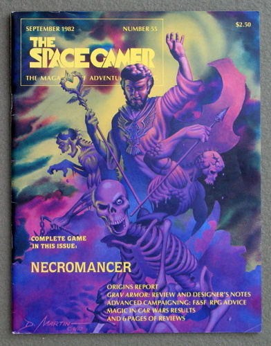 Image for The Space Gamer Magazine, Issue 55