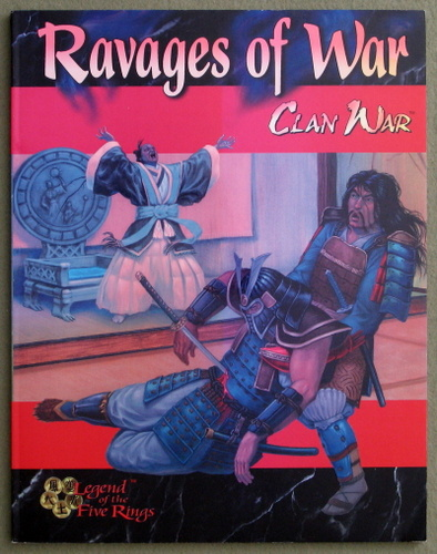 Image for Ravages of War (Clan War: Legend Of The Five Rings)