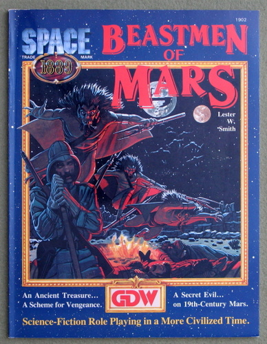 Image for Beastmen of Mars (Space 1889 RPG)