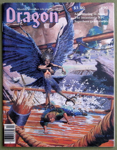Image for Dragon Magazine, Issue 90
