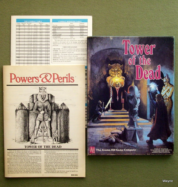 Image for Tower of the Dead (Powers & Perils)
