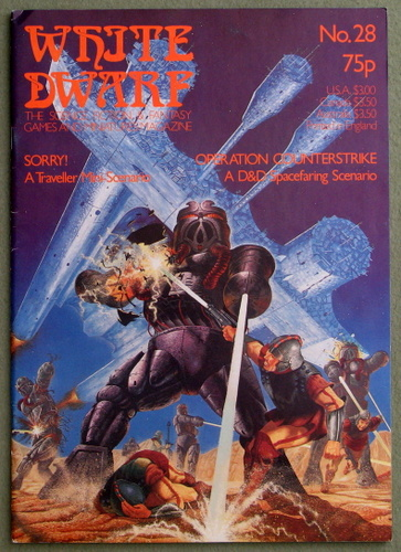 Image for White Dwarf Magazine, Issue 28