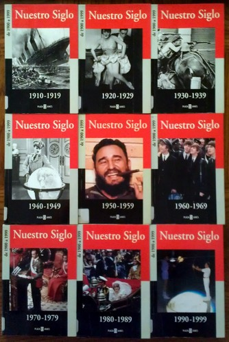 "Image for Nuestro Siglo 9-book Set, 1910-1999 (Spanish: ""Our Century"")"