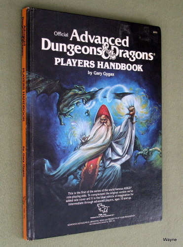 Image for Players Handbook (Advanced Dungeons & Dragons, 1st Edition Revised) - PLAY COPY