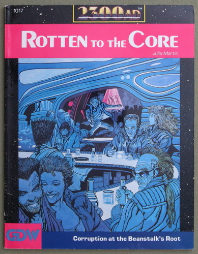 Image for Rotten to the Core (2300AD role playing game)