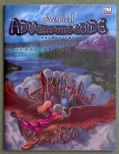 Image for Aerial Adventure Guide, Volume Two: Sellaine, Jewel of the Clouds (D20 system)