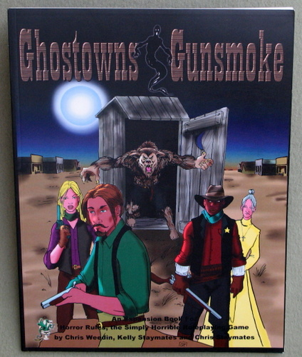 Image for Ghost Towns & Gunsmoke RPG (Horror Rules)
