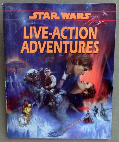 Image for Live-Action Adventures (Star Wars RPG)