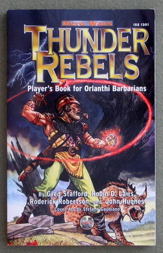 Image for Thunder Rebels: Player's Book for Orlanthi Barbarians (Hero Wars)
