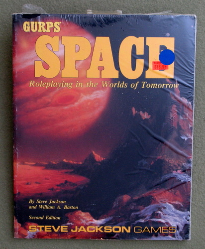 Image for GURPS Space: Roleplaying in the Worlds of Tomorrow (Second Edition)