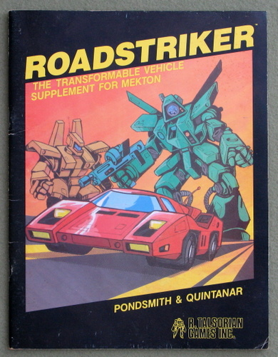 Image for Roadstriker: The Transformable Vehicle Supplement for Mekton