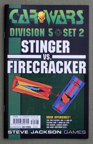 Image for Car Wars Division 5 Set 2: Stinger vs. Firecracker