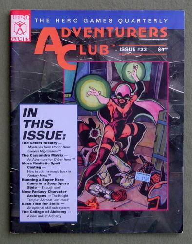 Image for Adventurers Club: The Hero Games Quarterly #23 (Winter 1994)