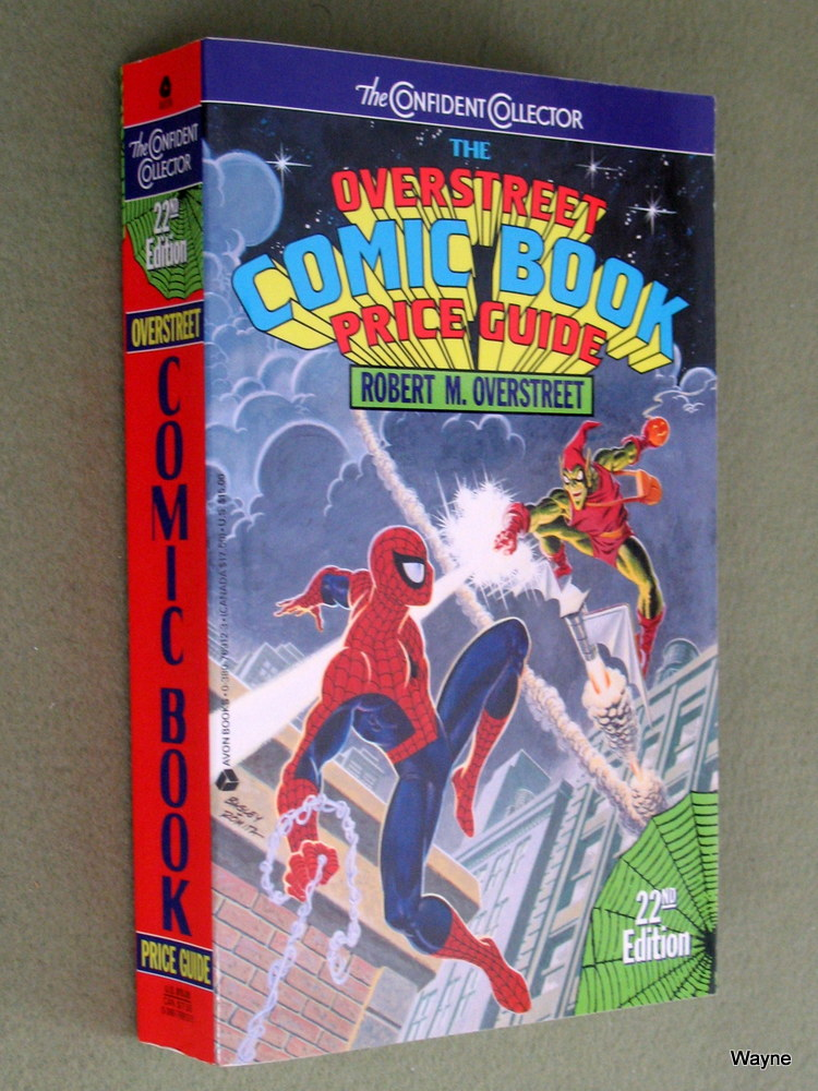 Image for The Overstreet Comic Book Price Guide (22nd edition, 1992)
