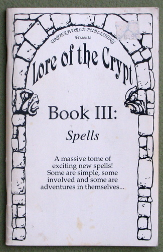 Image for Lore of the Crypt Book III: Spells