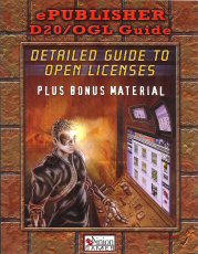 Image for ePublisher D20/OGL Guide: Detailed Guide to Open Licenses, Plus Bonus Material (D20 system)