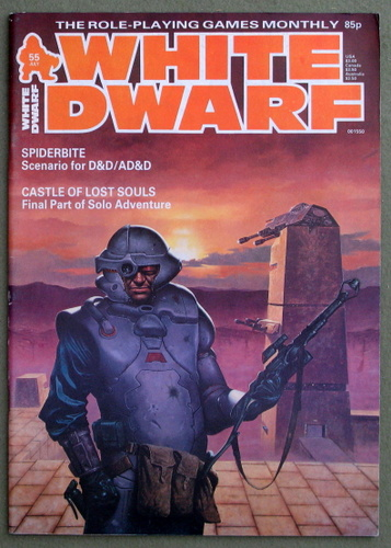 Image for White Dwarf Magazine, Issue 55