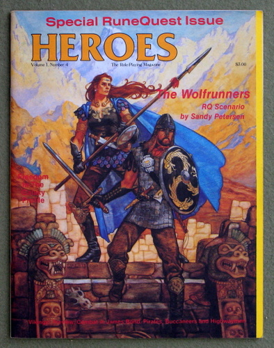 Image for HEROES Role-Playing Magazine: Volume 1, Number 4