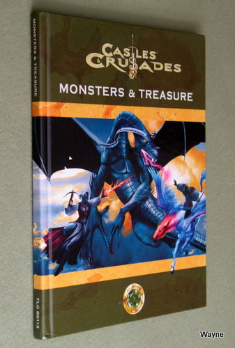 Image for Castles & Crusades: Monsters and Treasure, 4th Printing