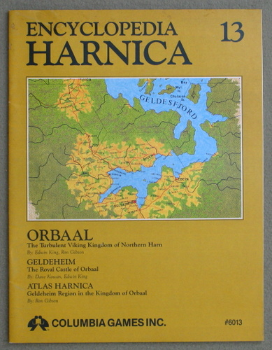 Image for Encyclopedia Harnica 13: Orbaal (Harn Fantasy RPG Setting)
