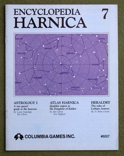 Image for Encyclopedia Harnica 7 (Harn Fantasy RPG Setting)