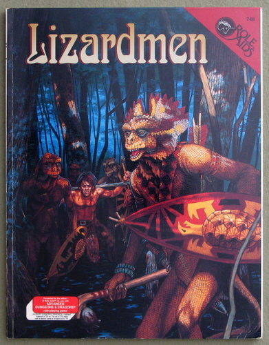 Image for Lizardmen (Advanced Dungeons & Dragons: Role Aids)