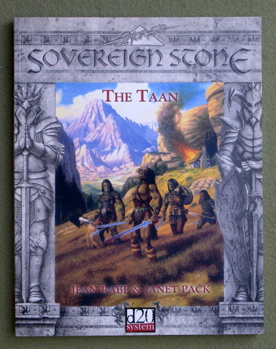 Image for The Taan (Sovereign Stone: D20 System)