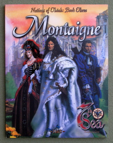 Image for Montaigne (7th Sea: Nations of Theah, Book Three)