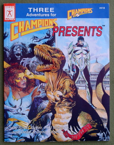 Image for Champions Presents: Three Adventures for Champions