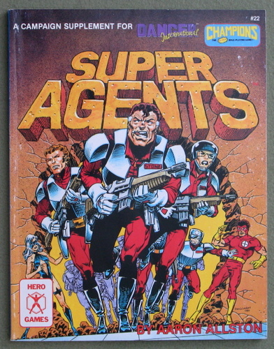 Image for Super Agents: A Campaign Supplement for Danger International & Champions