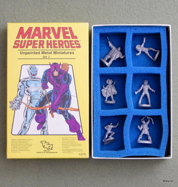 Image for Marvel Super Heroes: Unpainted Metal Miniatures, Set 3