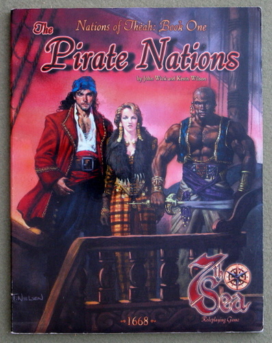 Image for Pirate Nations (7th Sea: Nations of Théah, Book 1)