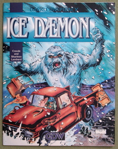 Image for Ice Daemon (Dark Conspiracy RPG)