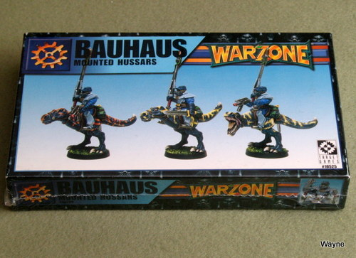 Image for Warzone: Bauhaus Mounted Hussars