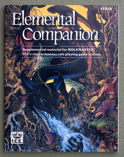 Image for Elemental Companion (Rolemaster)