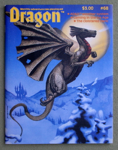 Image for Dragon Magazine, Issue 68