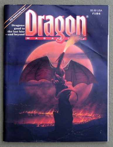 Image for Dragon Magazine, Issue 194