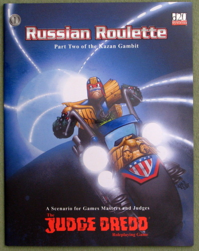 Image for Judge Dredd: Russian Roulette (The Kazan Gambit Trilogy #2)