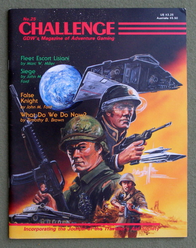 Image for Challenge Magazine, Issue 25
