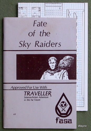 Image for Fate of the Sky Raiders (Traveller RPG)