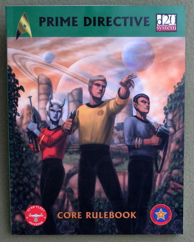 Image for D20 Prime Directive: Core Rulebook