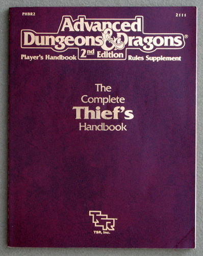 Image for Complete Thief's Handbook (Advanced Dungeons & Dragons Accessory PHBR2)