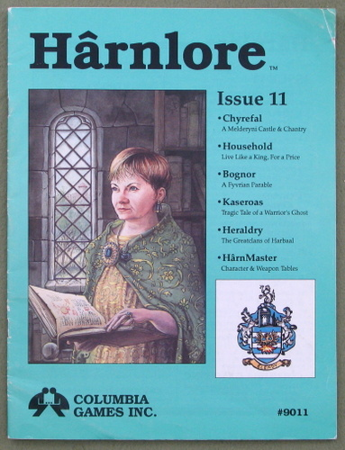 Image for Harnlore, Issue 11 (Harn Fantasy System)