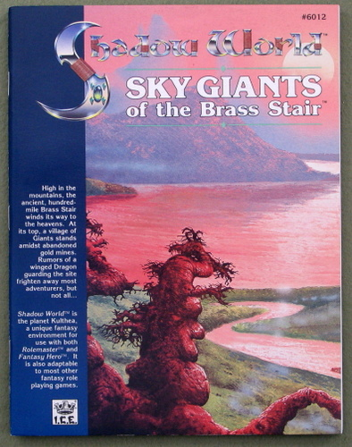 Image for Sky Giants of the Brass Stair (Shadow World)