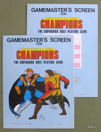 Image for Gamemaster's Screen For Champions