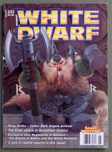 Image for White Dwarf Magazine, Issue 233 (June 1999)