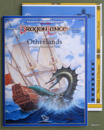 Image for Otherlands (Advanced Dungeons & Dragons / Dragonlance Accessory DLR1)